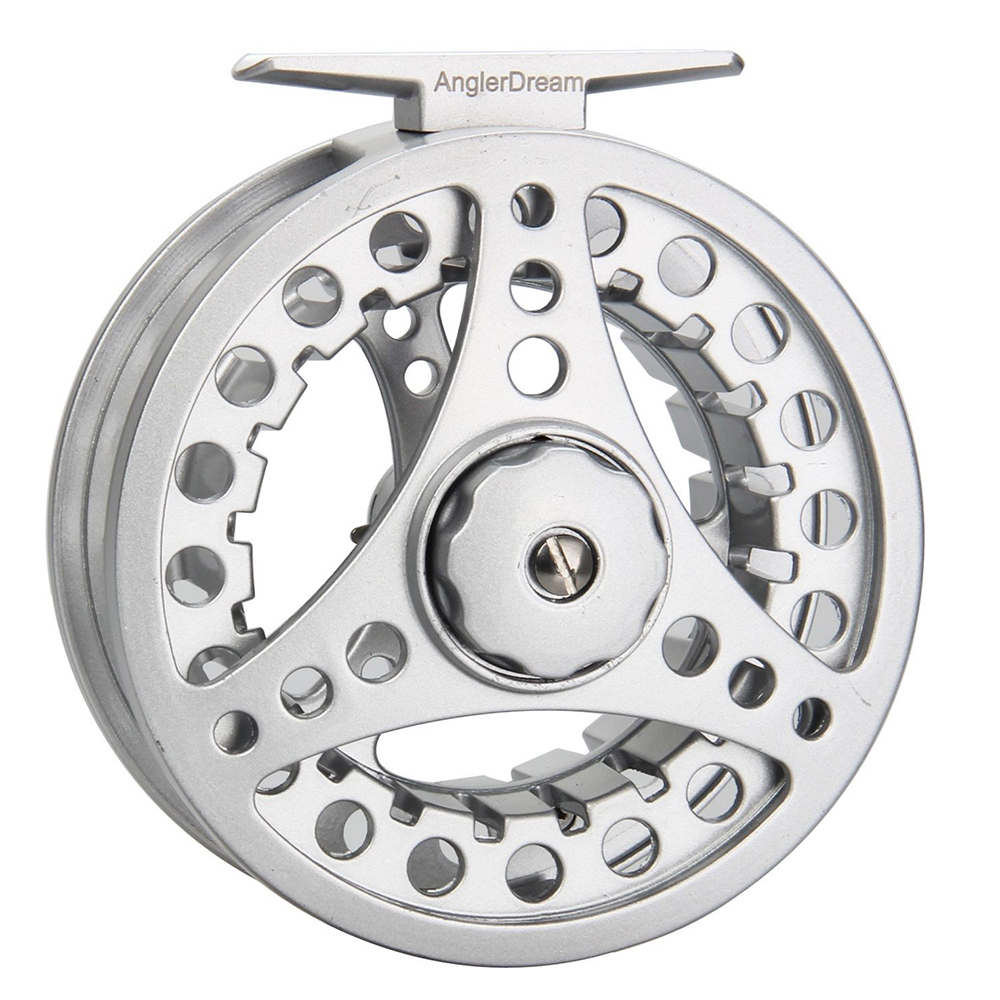 1/2 3/4 5/6 7/8wt Fly Reel Silver Die Casting Large Arbor Fly Fishing Reel Spare Spool Available Discounts Sale