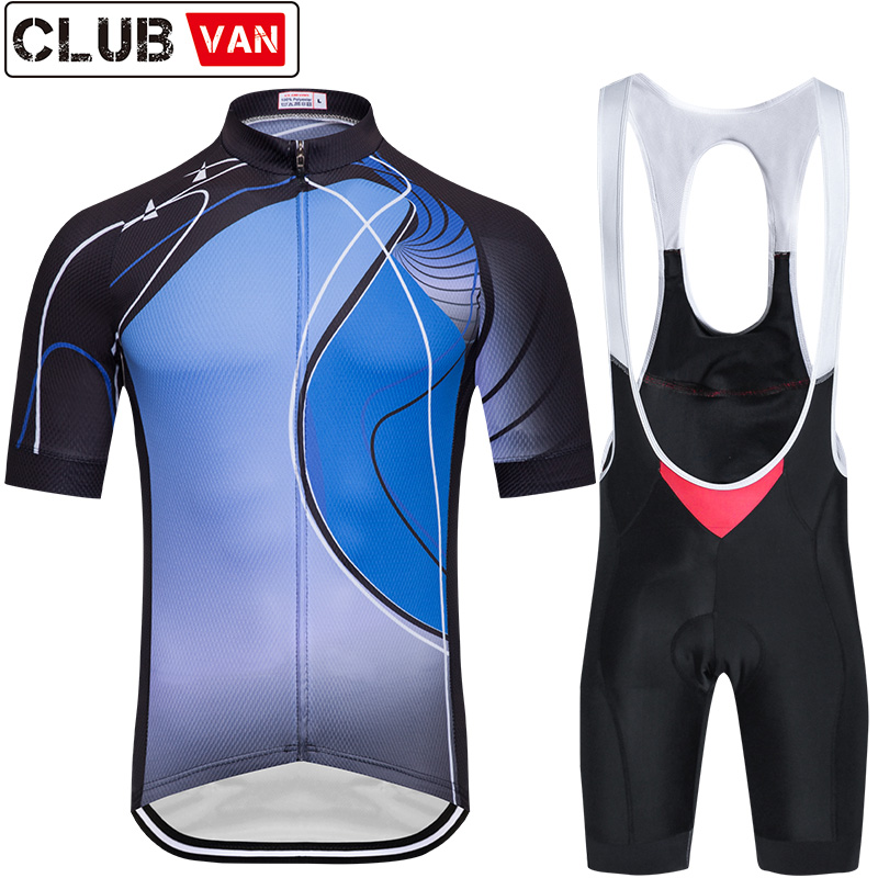 2018 CLUBVAN pro cycling jersey Summer Cycling set Racing Bicycle Clothing Mans Maillot Ropa Ciclismo cycling jersey 2018 pro