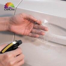 4 sztuk uniwersalny niewidoczne klamka do drzwi samochodowych zadrapania samochodów ochronna Protector filmów uchwyt ochrony naklejka car styling