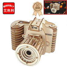 camera decoration 3D Wooden Puzzle Kids Educational Toys DIY Paper Puzzles Jigsaw Model Toys For Children-in Puzzles from Toys & Hobbies on Aliexpress.com | Alibaba Group