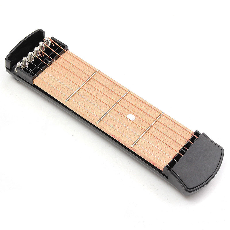 Portable Pocket Guitar Acoustic Practice Tool Gadget Chord Trainer 6 ...