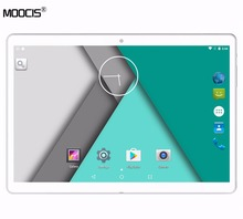 "Moocis 10.1 pulgadas 1920*1200 tablet pc 4g lte android6.0 tab pad 10 ""IPS MTK8752 Octa Core Dual SIM Card WIFI Bluetooth GPS"