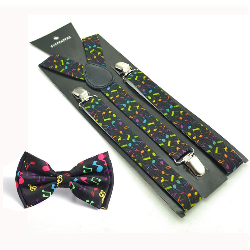 Music Note Suspenders