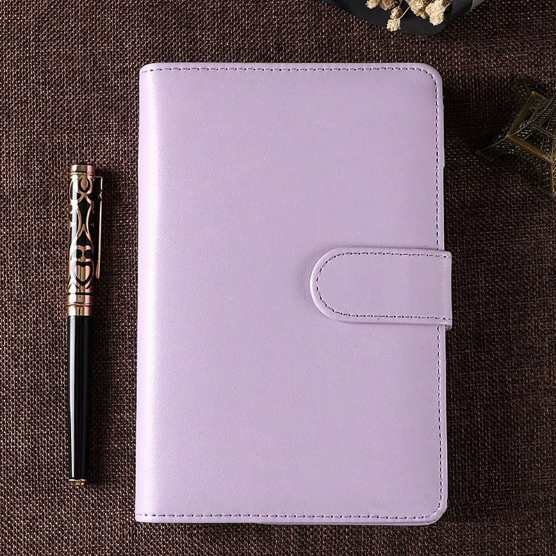 New A5 Weekly Monthly Planner Diary Classic Loose Leaf Ring Binder Notebook PU Cover Memo Pads a5 planner agenda pu loose leaf weekly monthly journal diary notebook blue pu leather soft cover