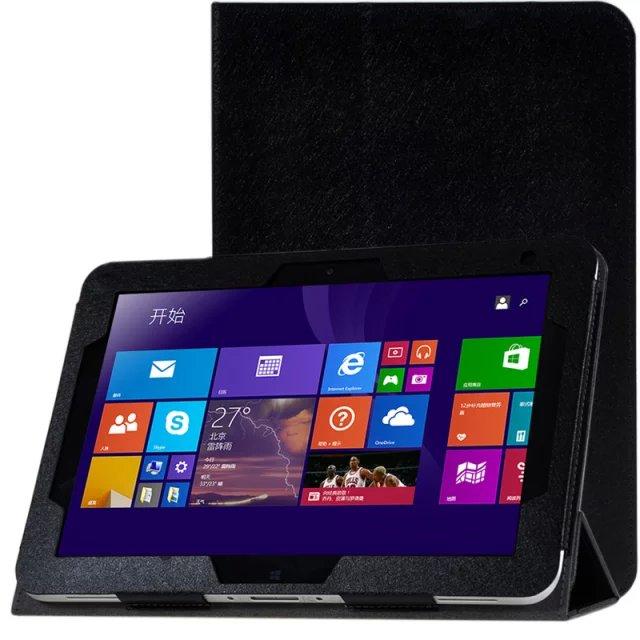 """För HP Elitepad 900 G1 1000 G2 10,1 """"Tablet PC Silk Mönster PU Läderfodral Överdrag Ultra Tunt Flip Cover Väska Med Gratis Gåva"""