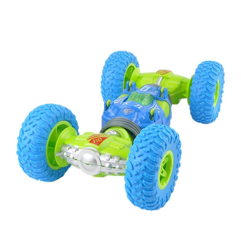 RC Car RC Twist Clibing Off Road Car Truck Scale Double-sided 2.4GHz One Key Conversion All-terrain Remote Control Toy