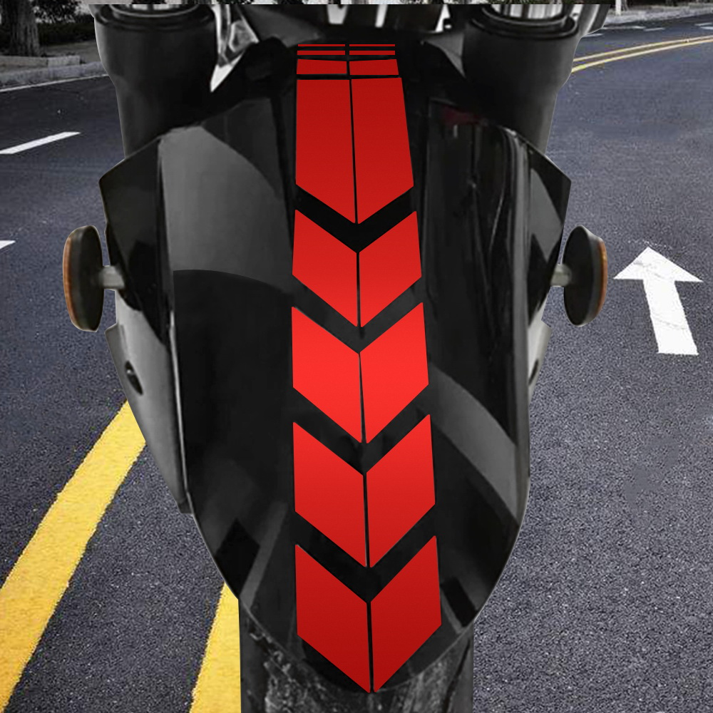 34cm Moto Stickers And Decals Motorcycle Accessories Sticker On Bike Bicycle Fender Motorcycle Reflective Sticker Decoration