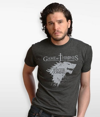 2017 game of Thrones Season 7 Ice and fire song T-shirt Stark family emblem Ice skate wolf short-sleeved cotton summer cosplay