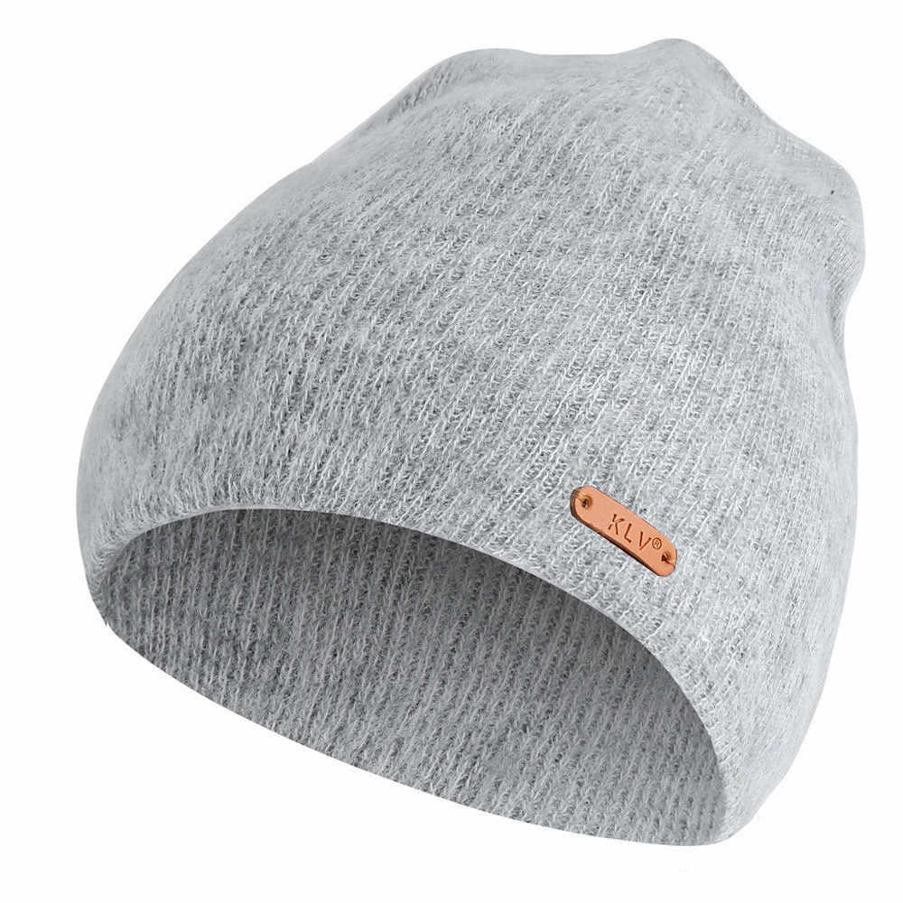 Модные зимние шапки бини для мужчин и женщин, мешковатые теплые вязаные крючком зимние шерстяные вязаные лыжные детская Шапка-бини, широкие шапки, капот femme #25