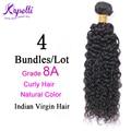 8A Indian Virgin Hair wigs Human Kinky virgin Curly Hair Bundles Tissage Bresilienne 4pcs Annabelle Remy Hair Extensions