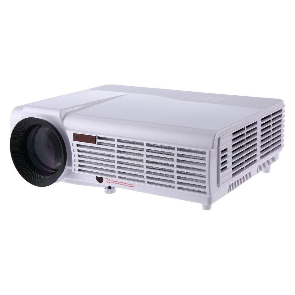 3000 Lumens Hd Home Theater Multimedia Lcd Led Projector: LED 96 Home Theater Proyector 3000 Lumens Full HD 1280 X