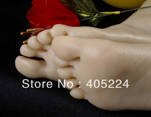 Female Realistic Lifelike Foot Mannequin Foot Fetishism Foot Worship Props Or Shoe Stretcher Display Stand Practicing Nail Art In Mannequins From Home