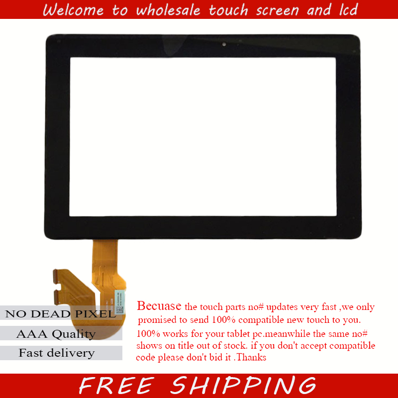 Black 10.1 inch Digitizer Touch Screen For Asus Transformer Pad KOOC TF701T 5449N FPC-1 5235N in stock free shipping new for asus eee pad transformer prime tf201 version 1 0 touch screen glass digitizer panel tools