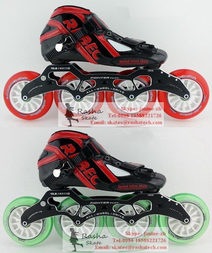 Prix pour Inline chaussures de patinage patins à roulettes Cristal roues inline cadre de patinage de vitesse