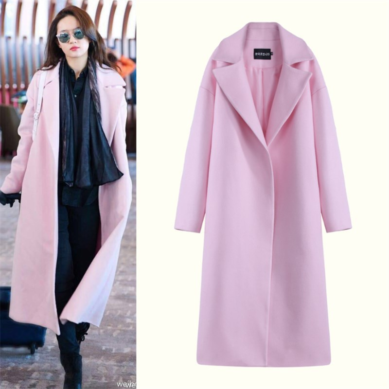 High Quality Pink Wool Coats-Buy Cheap Pink Wool Coats lots from ...