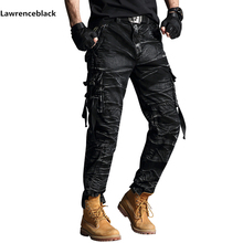 cargo pants mens Band Tactical Camouflage Military Pants Men Rip stop SWAT Soldier Combat Trousers Militar Work Army Outfit 6661