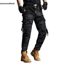 מכנסיים מטען mens להקת טקטי הסוואה צבאי מכנסיים גברים לקרוע stop SWAT חייל לחימה מכנסיים טחונים עבודת צבא תלבושת 6661