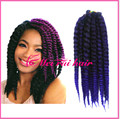"Hair accessories 12"" Havana Mambo Twist Crochet Braiding synthetic ombre crochet braid hair jewelry twist braids"