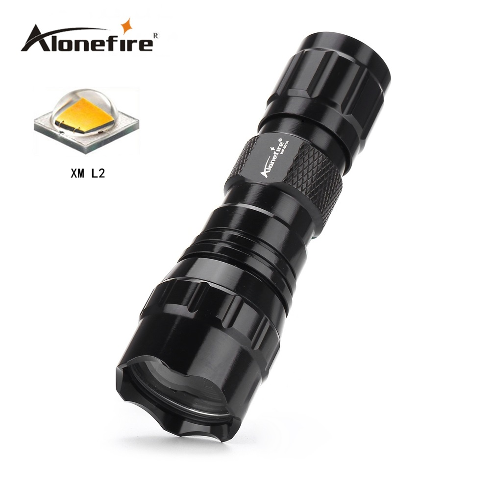 501A Mini LED Flashlight CREE XML-T6/XM-L2 Waterproof Lanterna LED Torch for 16340 CR 123A battery Flashlight Linterna led nitecore mt10a 920lm cree xm l2 u2 led flashlight torch