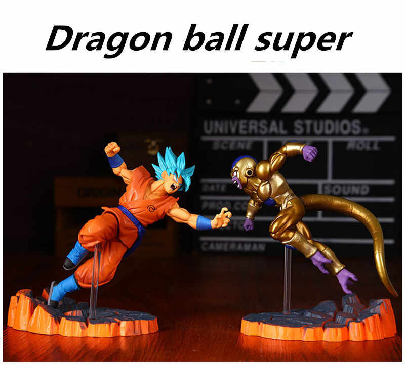 Anime Dragon Ball Z Fighers Manga Príncipe Vegeta Trunks Super Saiyan Goku Son Goku Gohan Action Figure Modelo Coleção Toy presente