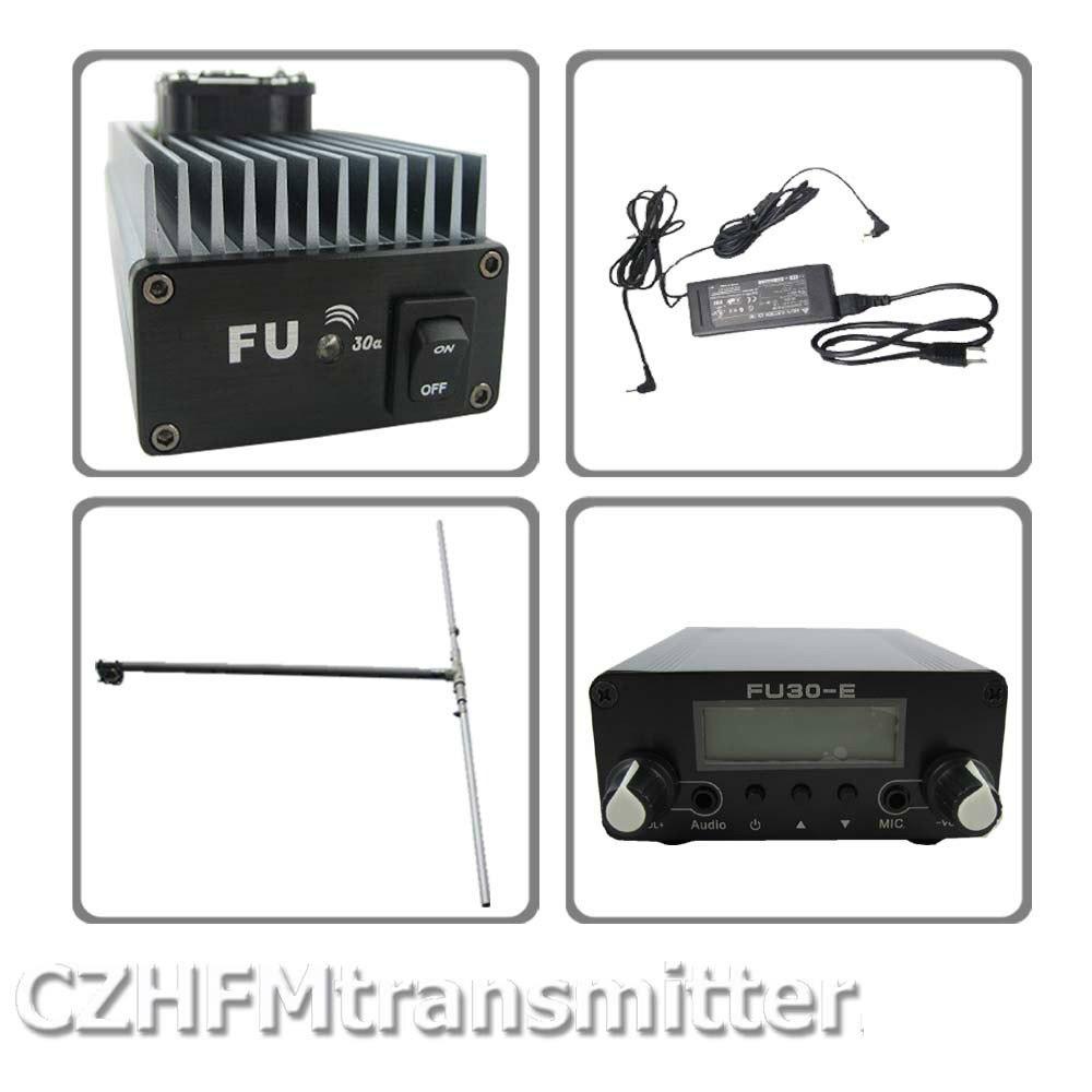 FMUSER FU-30A 30 W professionnel FM amplificateur émetteur 85-110 MHz