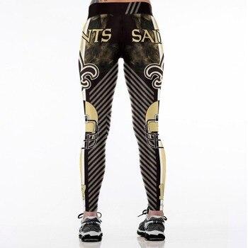 New Orleans S-Team Fitness Leggings