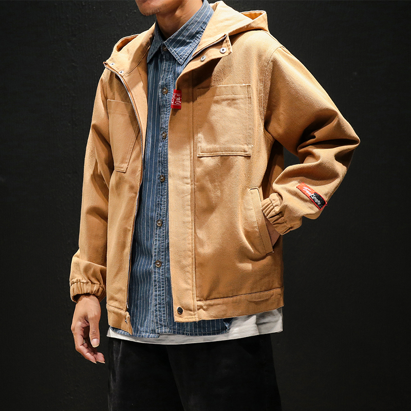 2018 bomber Hooded jacket for men Casual clothes mens ceket casacas para hombre baseball jacket kurtka roupas masculina pilot