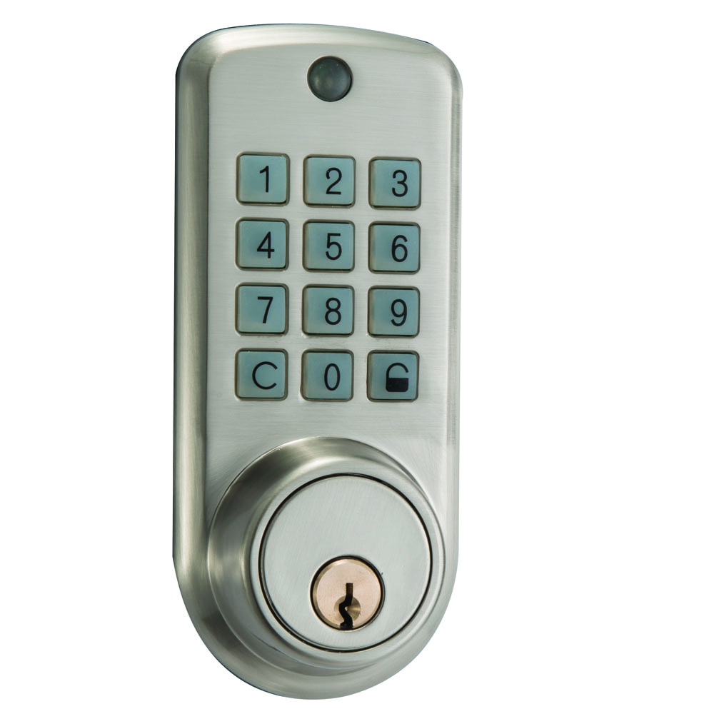 Cheap Electronic Door Lock Keypad Door Lock Smart Keypad Digital Lock with Single Deadbolt reversible silver smart digital electronic keypad lock keyless door lock with single latch for commercial buildings villas
