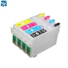 4 шт. многоразовые картриджи для T26 T27 TX106 TX109 TX110 TX117 TX119 CX4300 C91 с дугой T0921 92n