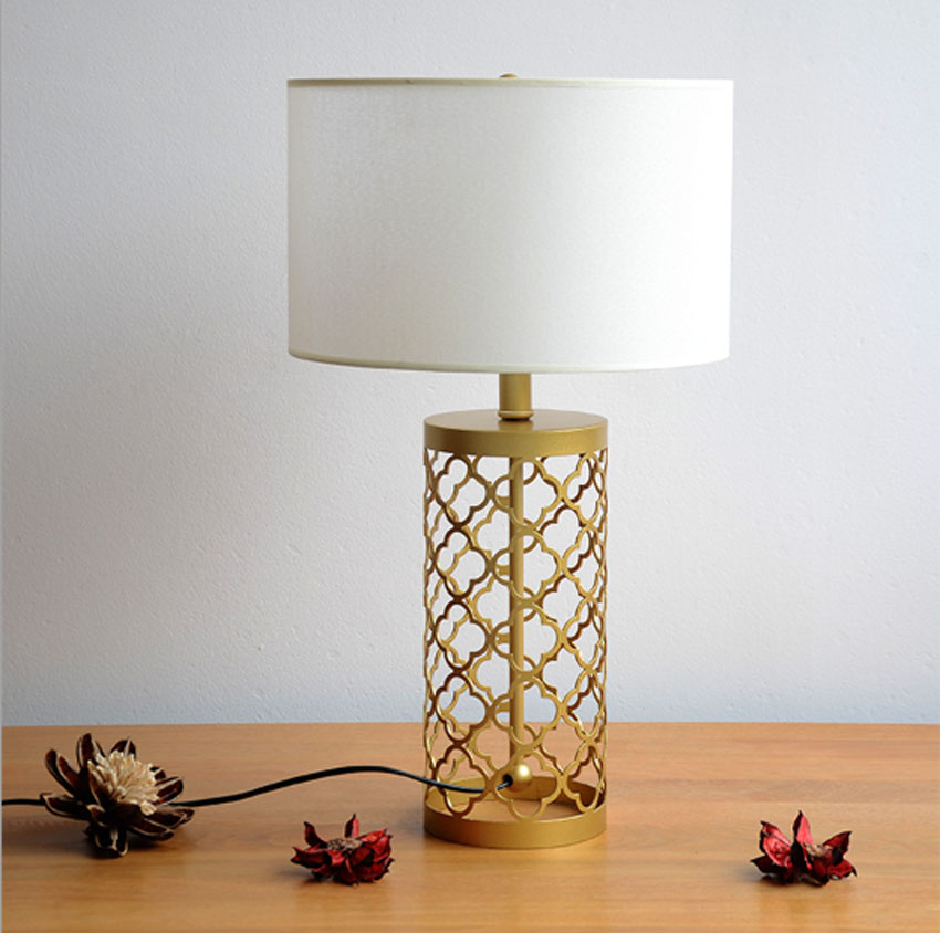 ZYY Simple Warm Golden Table Lamps Retro Creative American Style Lighting For Bedroom Foyer Hotel Diameter55&70cm With LED Bulb american style retro desk light wooden base led lamp cafe bar table lamps bedroom industrial water pipes art deco lighting