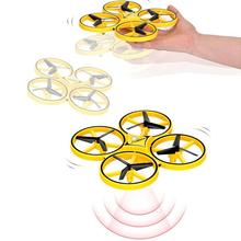 Remote Control Four-axis Drone Children RC Aircraft Toys Magic Sensing Induction