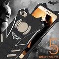 R-JUST Batman Série Poeira Pesada Armadura de Doom Metal Case de Alumínio Anodizado para tampa da caixa xiaomi mi5 pro mi prime 5 fundas coque
