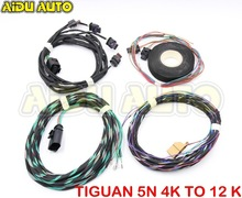 Auto Parking PLA 2.0  Play&Plug 4K To 12K Install Harness Wire For Tiguan 5N цена 2017