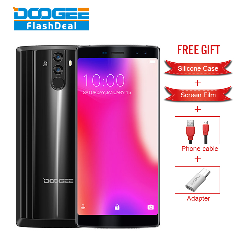 DOOGEE BL12000 4G 6,0 ''FHD + 18:9 Smartphone 12000 mah 4 GB 32 GB Quad Kamera 16,0 + 13,0 MEGAPIXEL 16,0 + 8,0 MEGAPIXEL MTK6750T Octa-core Android 7.0