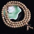 Ubeauty Натурального Сандалового Дерева 8 мм 108 Буддийский молитва деревянные бусины браслет джапа мала ожерелье Тибетской медитации инструмент Браслеты