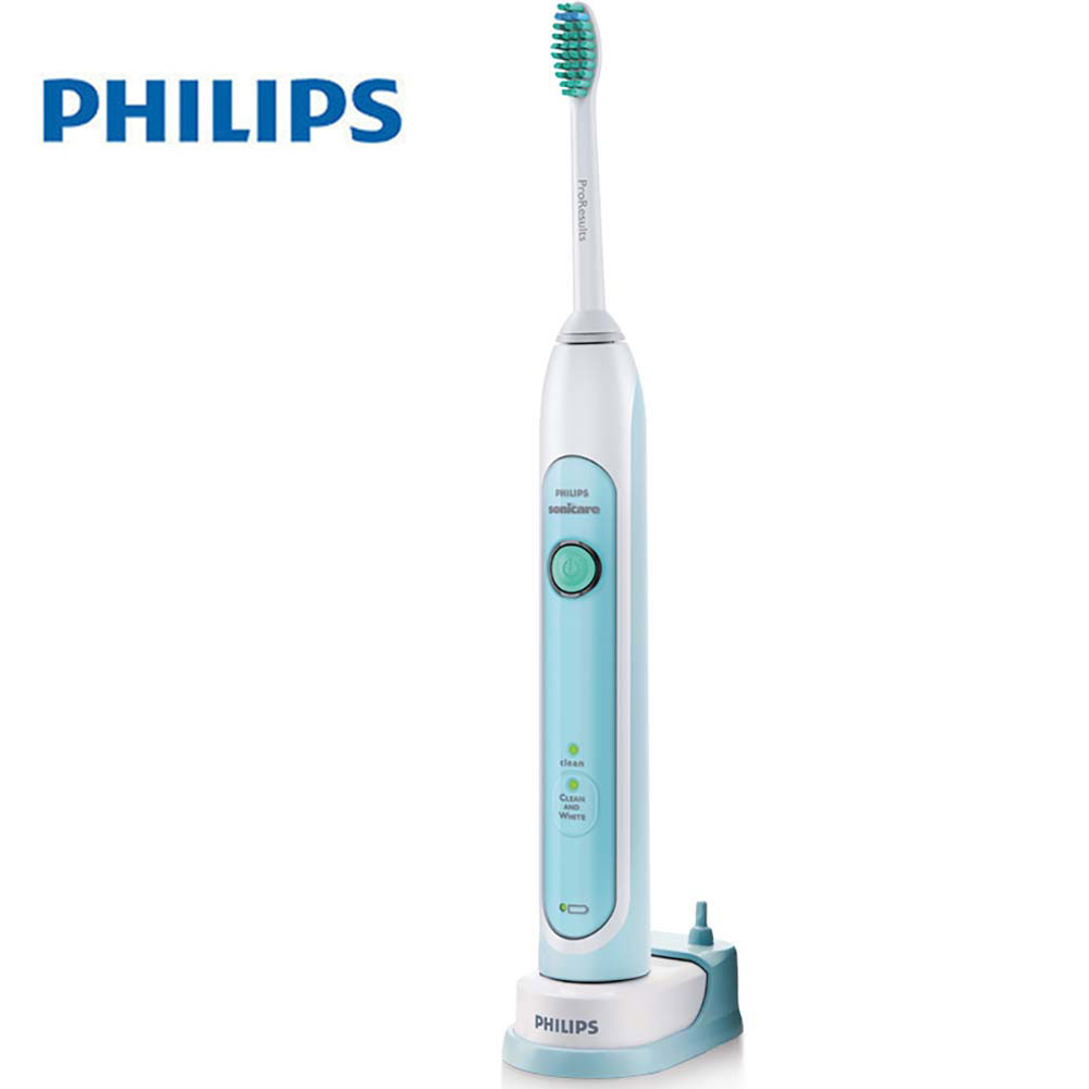 Philips Sonicare HealthyWhite Easy-stay Electric Toothbrush HX6711 with 31000 R/M 2 Mode Intelligent Timing Waterproof for A image