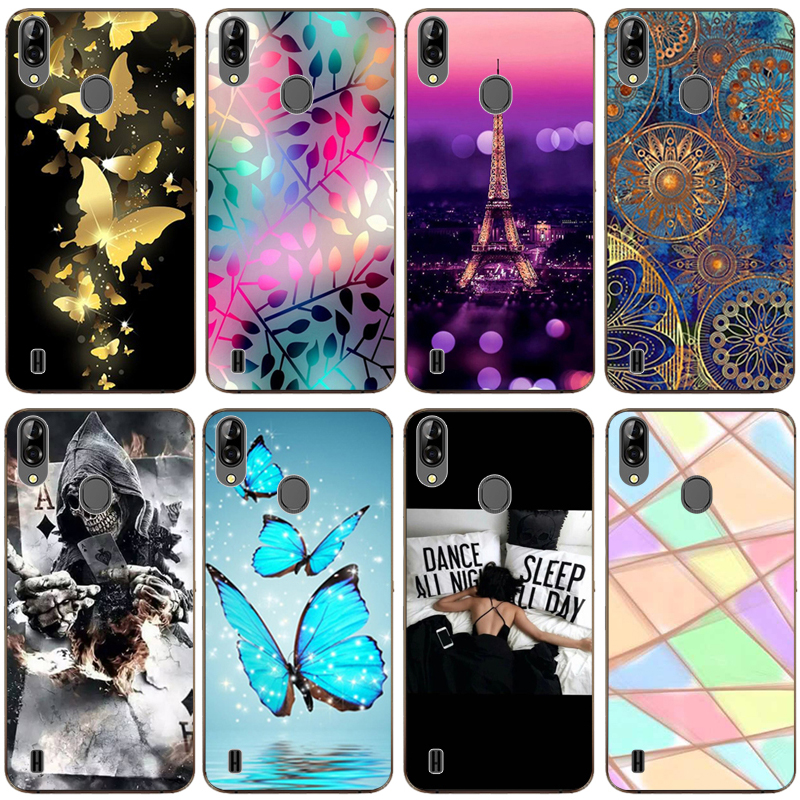 Patterned Case for Blackview A60 Pro Soft TPU Case Phone Back Cover for  Blackview A 60 Pro A60Pro Case