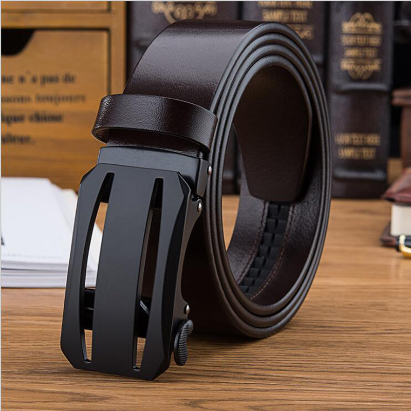 2019 Automatic Buckle Genuine Leather Business Mens Belt Designer Luxury Belt Jeans Strap Quality Assuarance XKS087