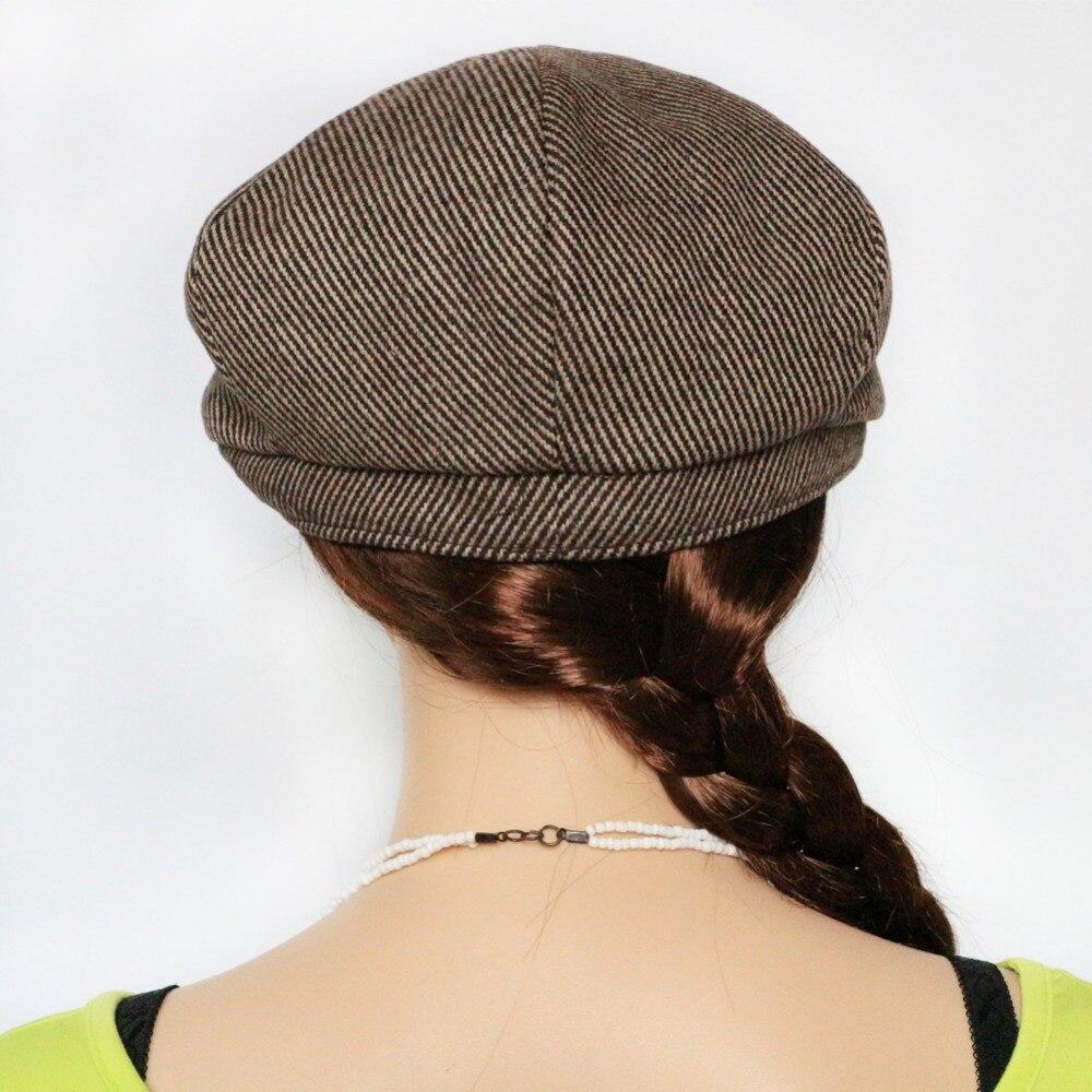 BooLawDee 56 58 60 cm Hexagon tappo strillone cappello pittore moda marrone  banda uomini e donne per il tempo libero indossa accessori M619 in  BooLawDee ... e697a436e618