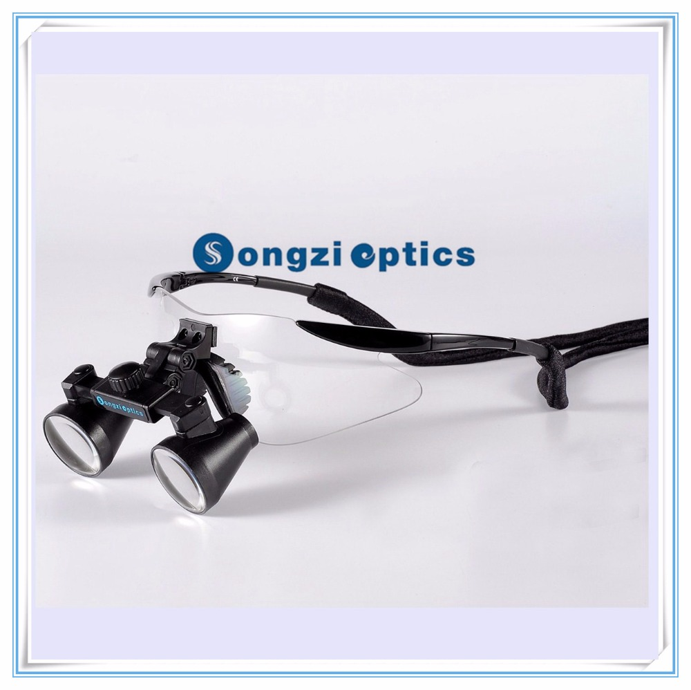 2 5X 3X 3 5X optional Hight Quality Ultra Light Black sport frame Medical Dental Surgical