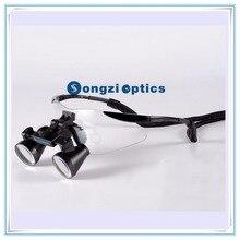 2.5X 3X 3.5X дополнительно Высокое качество ультра-легкий черный спортивный каркас Медицинские Хирургические лупы