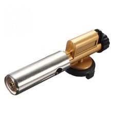 Quemadores De Gas Butano de la Llama de Encendido electrónico de Cobre Fabricante De la Pistola Encendedor de La Antorcha Para Acampar Al Aire Libre Picnic Cocina Equipo De Soldadura