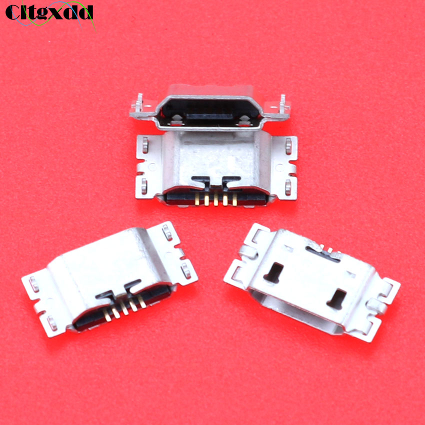 Cltgxdd 1PCS Micro <font><b>USB</b></font> Jack Socket Connector Charging Port For <font><b>ZenFone</b></font> <font><b>Go</b></font> TV <font><b>ZB551KL</b></font> X013D ZB452KL X014D Charger Dock Repair Par image