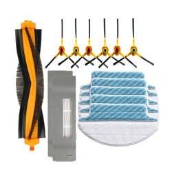 Основной щетки и hepa фильтр и боковыми кисти и швабры ткань замены Для Ecovacs Deebot DT85 DT83 DM81 DM85 DM86 пылесос части