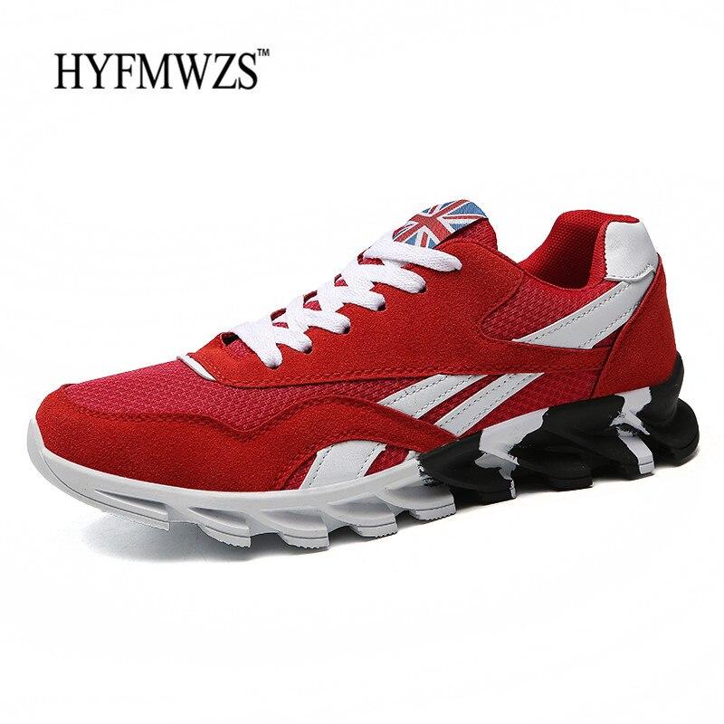 HYFMWZS Big Size 39-46 Krasovki Running Shoes For Men Breathable Men Shoes Sport Shoes Men Sneakers Zapatillas Deportivas Hombre