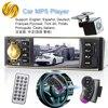 Viecar Car Radio 4 1 Inch 1 Din Audio Stereo USB AUX FM Radio Station Bluetooth