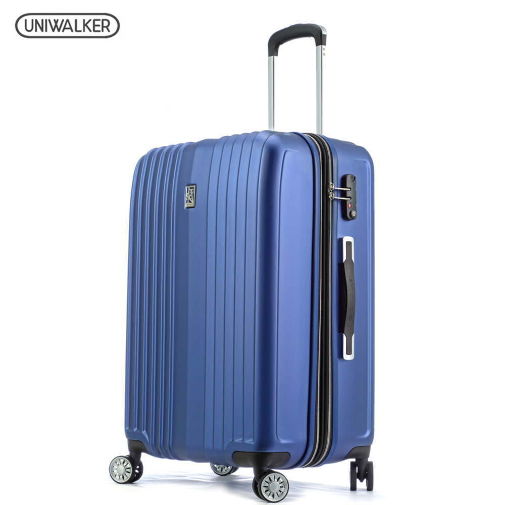 Uniwalker Luggage 2 Piece Set Spinner PET Luggage, 20
