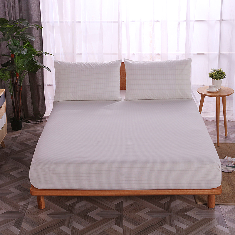 Earthing Fitted Sheet 137*203cm Grounding sheet Full Size EMF protection Conductive With 2 pillow cases anti static