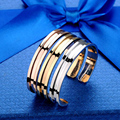 2017 High Fashion Kendra Hair Ties Rose Gold Bracelet Cuff Bangles for Women Jewelry Hair Tie Holder Alloy Open Cuff Bangles