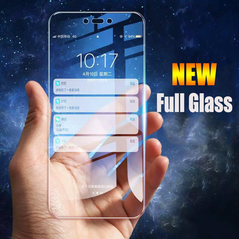 Image 2 - 2pcs/lot Full Screen Tempered Glass For Huawei Nova 3 Anti Blu ray Full Coverage Glass Protective film For Huawei Nova 3i glass-in Phone Screen Protectors from Cellphones & Telecommunications on